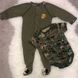 Other - Marines Tiny Trooper set 9-12m NWOT